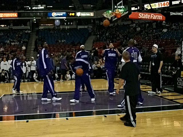 Sacramento Kings Courtside Seats