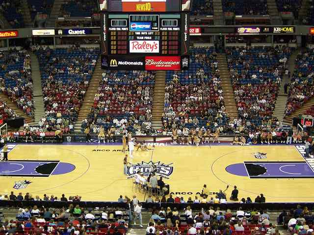 Sacramento Kings Upper Seats